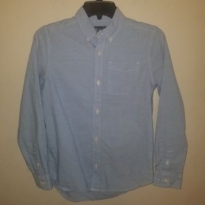 Children's Place | Blue Button Down Dress Shirt L